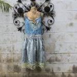Plus Size Eco Dress Upcycled Wearab..