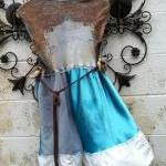 French Babydoll Eco Hippie Upcycled..